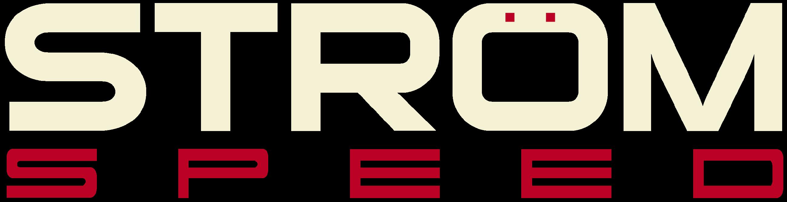 Strom Speed Logo